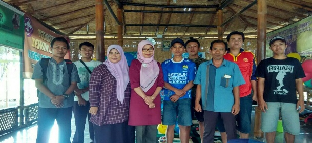 Dosen Polije Tingkatkan Kualitas Sdm Warga Desa Wisata Organik Lombok