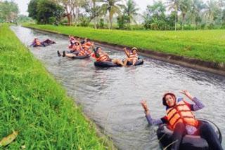Merintis Desa Wisata Organik Serunya Bermain Rafting Pesona Tubing Kab