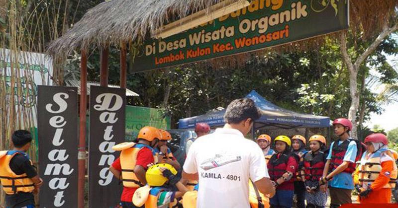 Serunya Liburan Sambil Bertani Organik Lombok Kulon Okezone Https Img