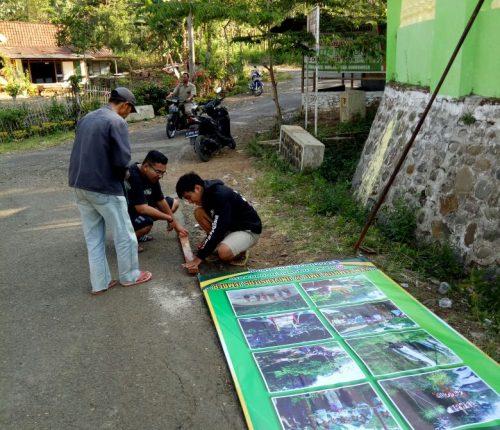 Wisata Air Terjun Sulaiman Desa Glingseran Dikembangkan Pemkab Mahasiswa Kkn