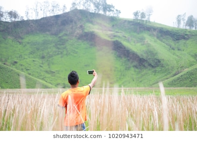 Bondowoso Images Stock Photos Vectors Shutterstock Capturing Moment Kawah Ilalang