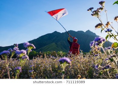 Bondowoso Images Stock Photos Vectors Shutterstock Man Indonesian Flag Taman