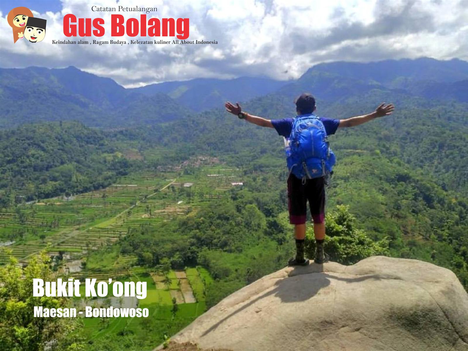 Pesona Keindahan Bukit Ko Ong Bondowoso Gus Bolang Foto Ociyd
