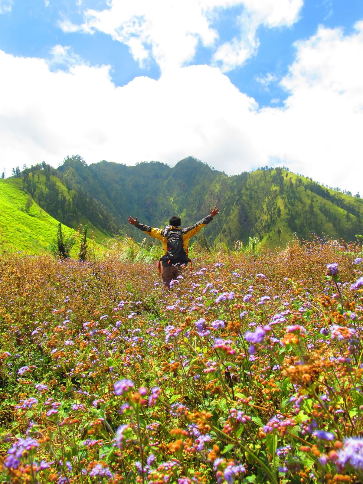 Taman Galuh Surga Tersembunyi Kaki Gunung Crengih Gus Bolang Bondowoso