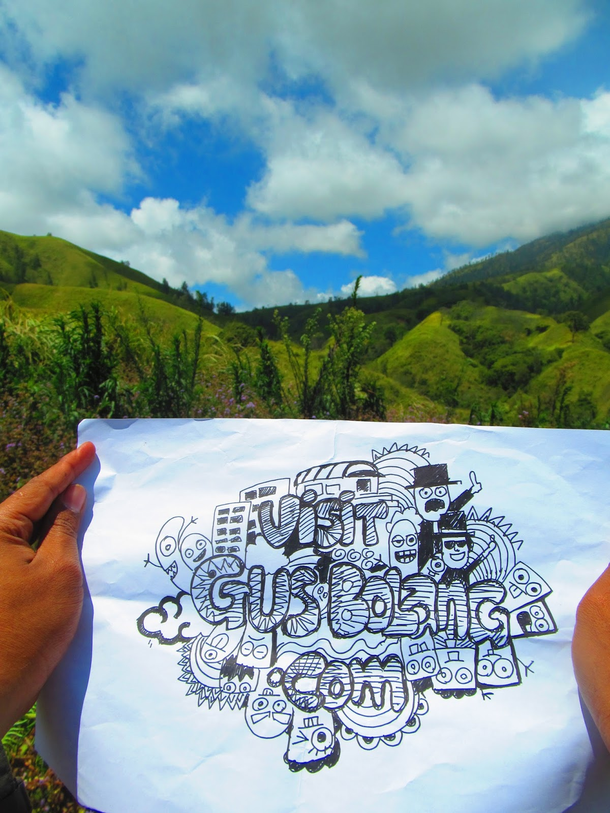 Taman Galuh Surga Tersembunyi Kaki Gunung Crengih Gus Bolang Bukan