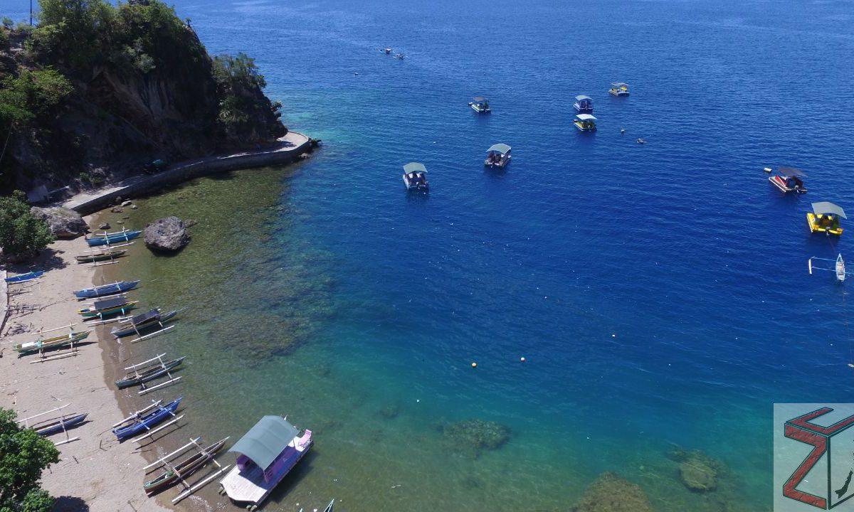 Berwisata Taman Laut Olele Zona Utara Wisata Kab Bone Bolango