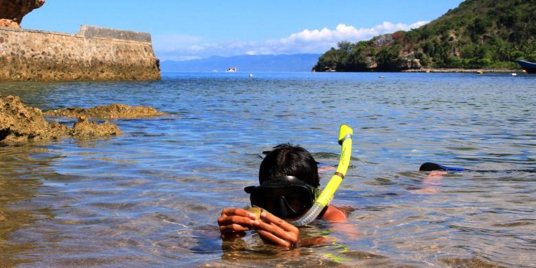 Catat 3 Festival Wisata Andalan Gorontalo Kompas Taman Laut Olele