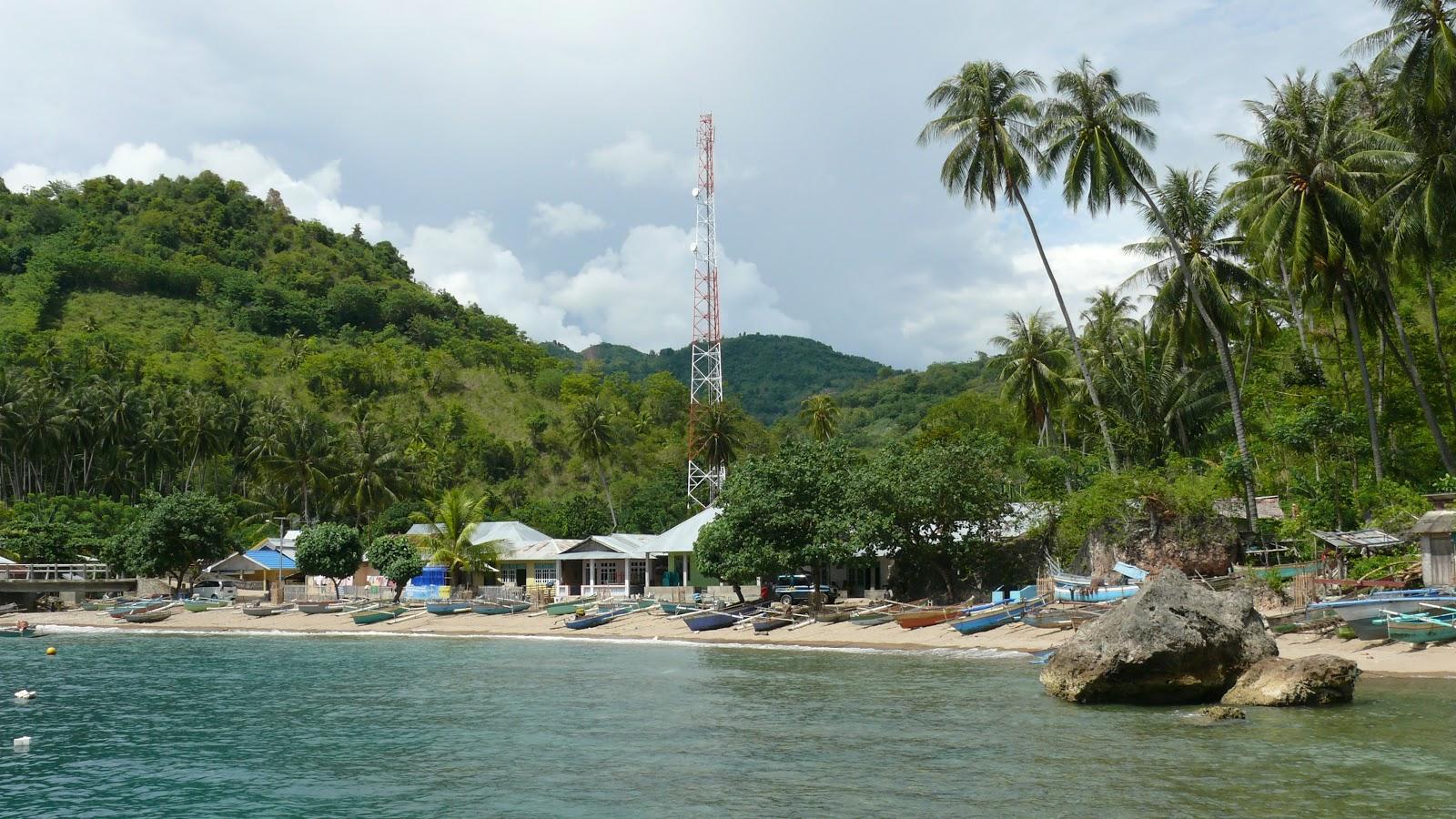 Pantai Olele Gorontalo Taman Wisata Laut Kab Bone Bolango
