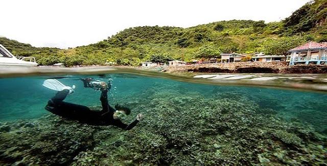 Pantai Olele Menyimpan Sejuta Keindahan Alam Bawah Laut Gorontalo Satu
