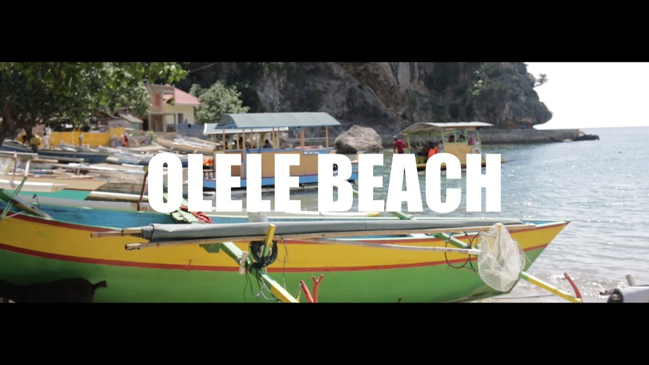Pesona Gorontalo Taman Laut Olele Fraternite 17 Youtube Wisata Kab