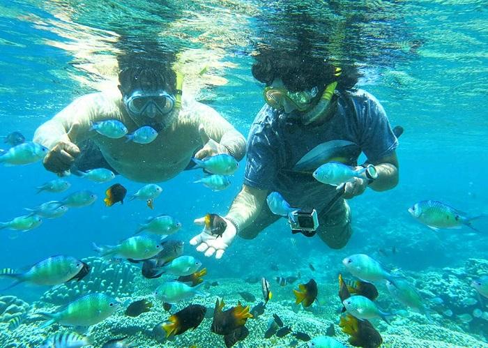 Sepotong Keindahan Taman Laut Olele Acehkita Foto Debby Mano Wisata