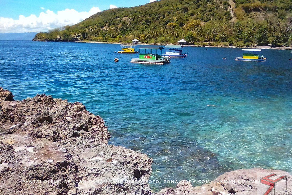 Taman Laut Olele Surga Bawah Gorontalo Zona Utara Wisata Kab