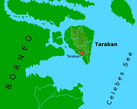 Kota Tarakan Wikiwand Peta Lokasi Pulau Hutan Mangrove Bunyu Kab