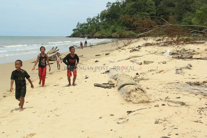 Pulau Kaya Kurang Perhatian Bulungan Post Tergarap Pantai Nibung Salah