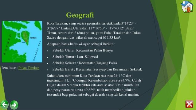 Sejarah Kota Tarakan Kelurahan Juata Kerikil 15 Geografi Peta Lokasi