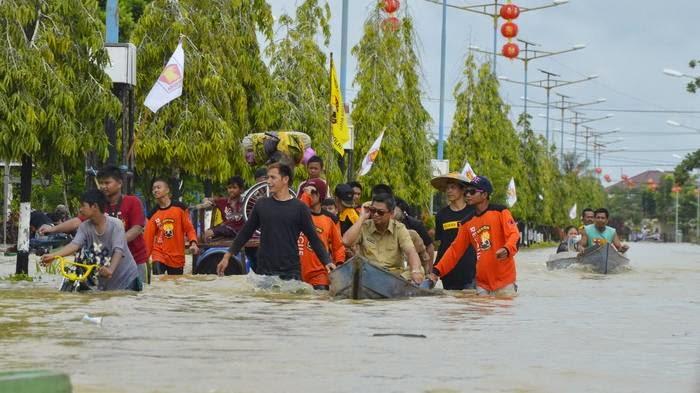 Tarakanolshopzazu Tarakan Kota Kaltara Kalimantan Utara Banjir Bulungan Tanjung Selor