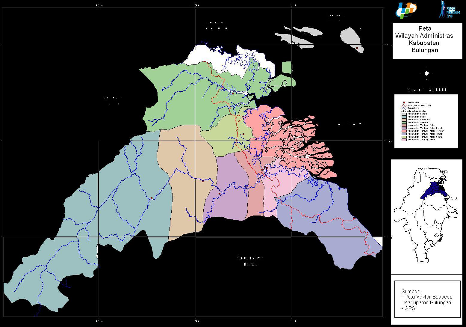 2012 Dinas Kebudayaan Pariwisata Bulungan Kaltara Kabupaten Letak Astronomisnya Berada
