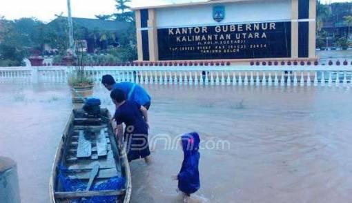 Bulungan Tetapkan Status Darurat Bencana Banjir Daerah Jpnn Istana Olahraga