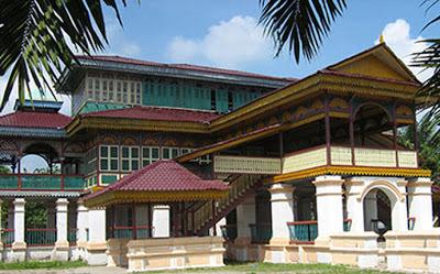 Maret 2014 Springocean83 Istana Kerajaan Lima Laras Terletak Desa Kecamatan