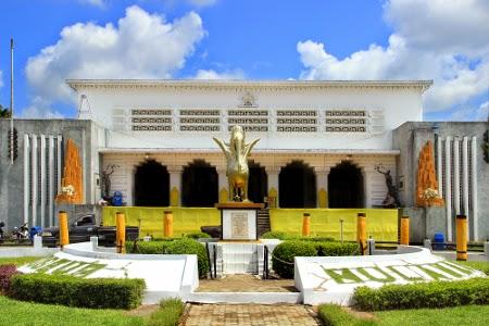 Museum Mulawarman Reborneo Bangunan Berfungsi Sebagai Istana Kesultanan Didirikan 1932