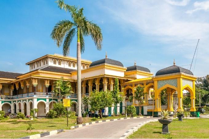 Tahu Wisata Medan Aja Lihat Istana Maimun Olahraga Air Kab