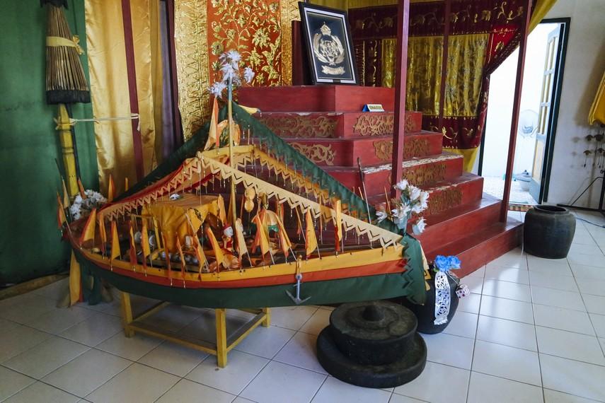 Bulungan Kesultanan Kalimantan Utara Hampir Terlupakan Miniatur Kapal Milik Singgasana