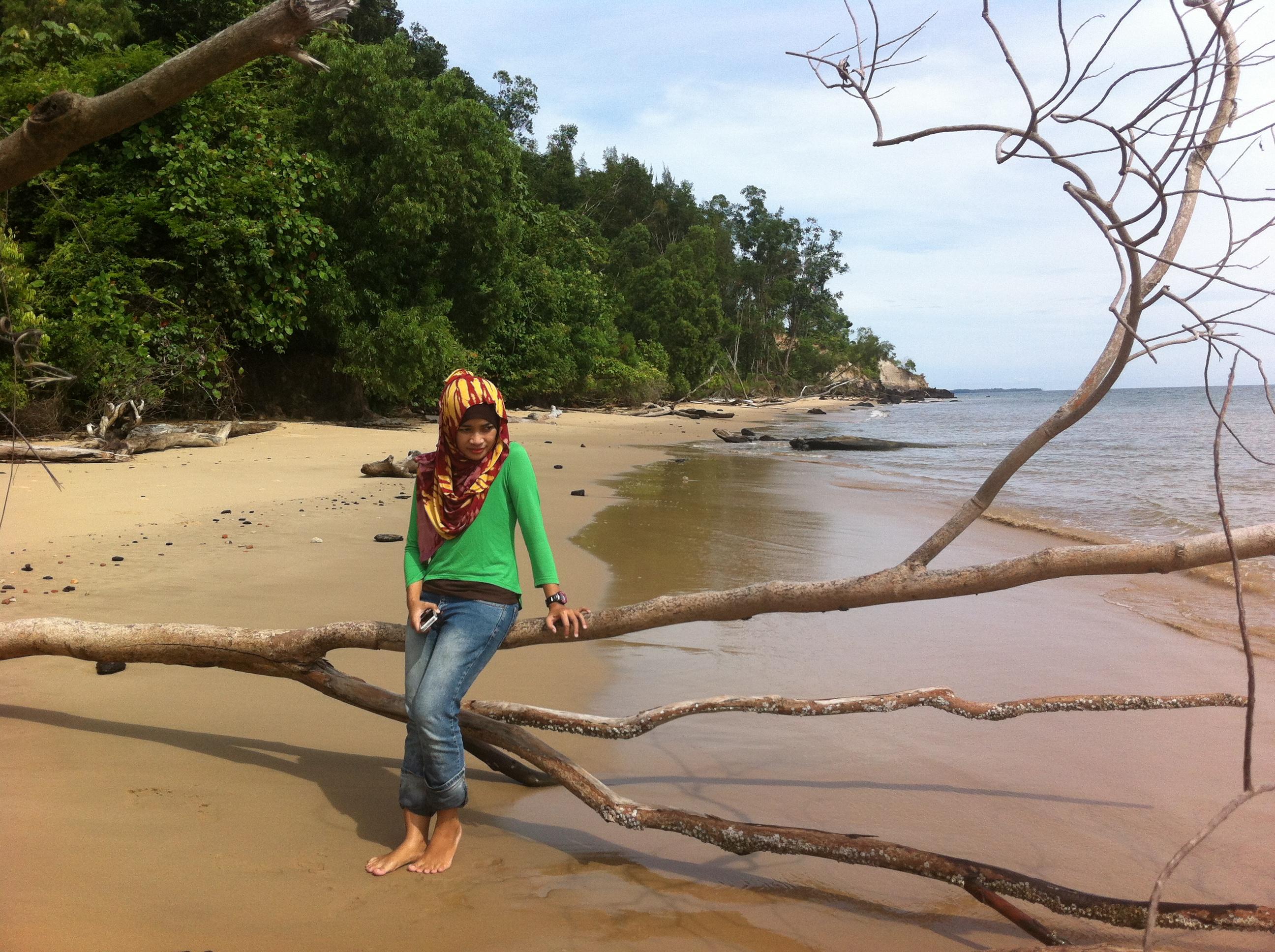 Bunyu Pulau Kecil Hangat Andriwidi Pantai Nibung 596 Tpi Kab