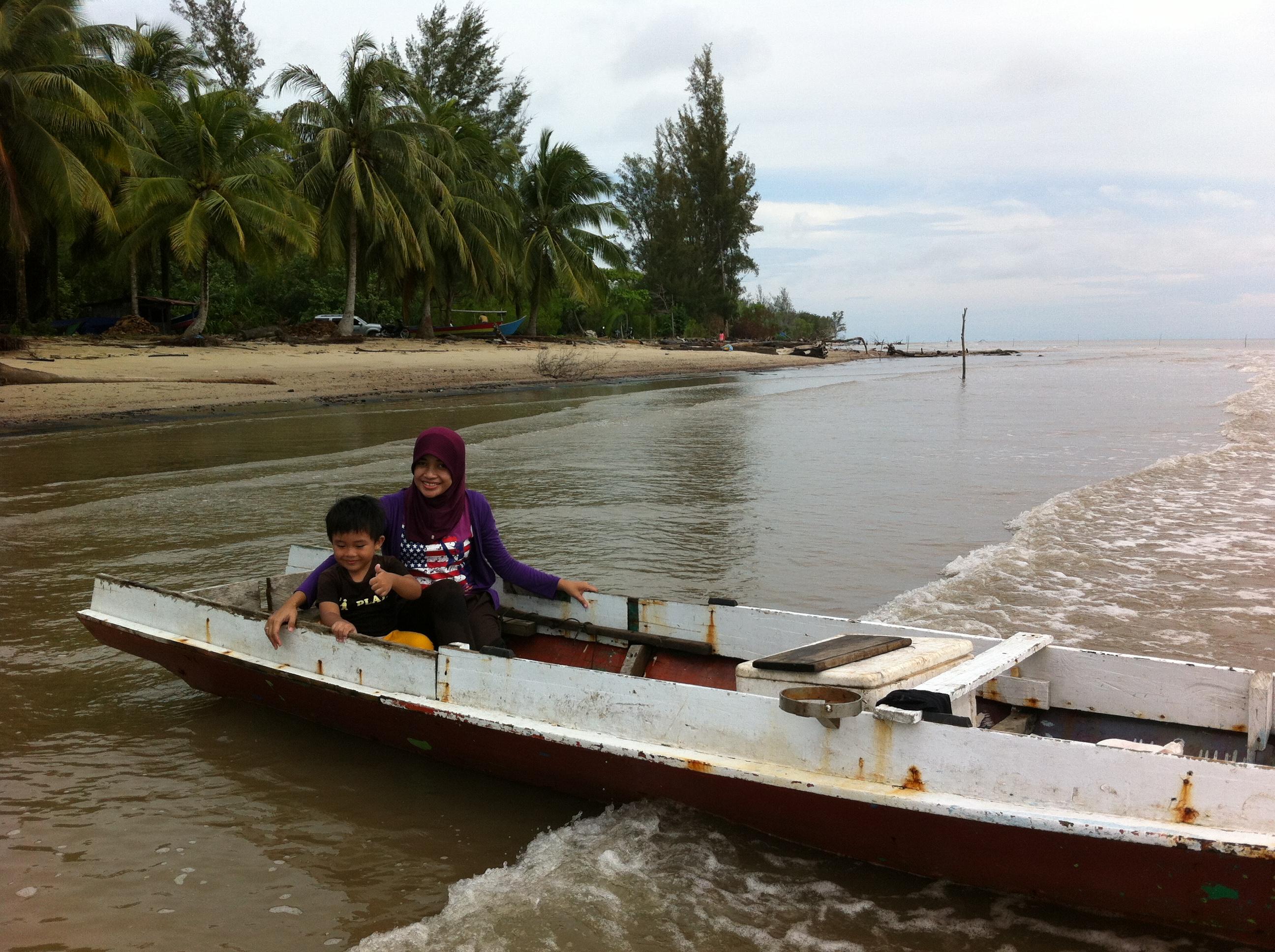 Bunyu Pulau Kecil Hangat Andriwidi Pantai Seikura Tpi Kab Bulungan