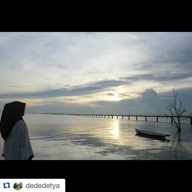 Bunyukita Instagram Pemandangan Sunset Dc Dermaga Cinta Pulau Bunyu Terlihat