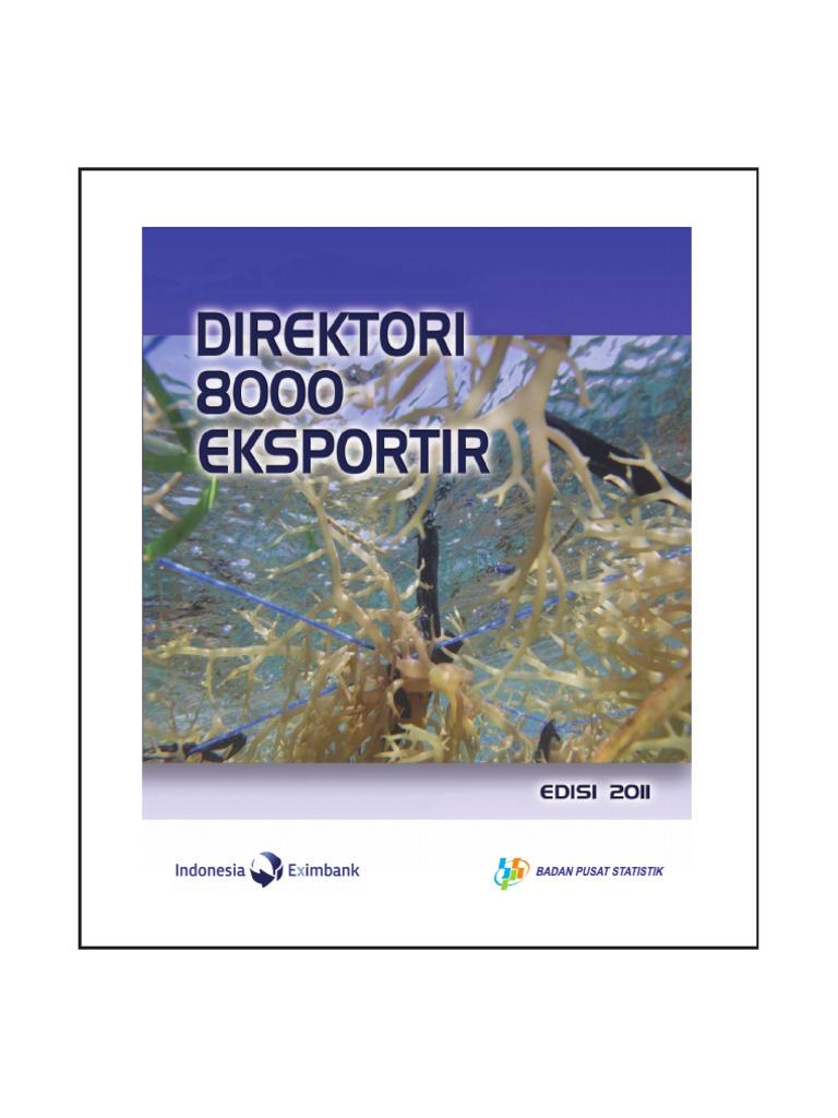 Direktori 8000 Eksportir 2011 Isi Pantai Tpi Kab Bulungan