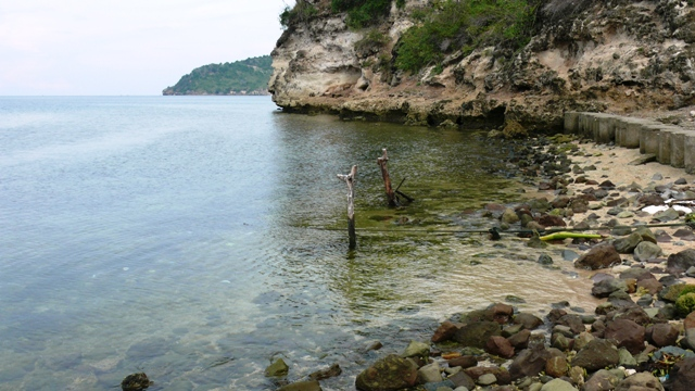 Kampung Nelayan Tanjung Keramat Gorontalo Pinggiran Pantai Minggu 7 4