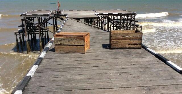 Ujung Jembatan Tpi Pasar Klandasan Terancam Roboh Gerbangkaltim Dot Pantai