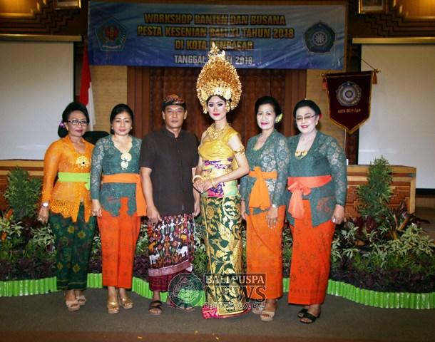 Pkk Kota Denpasar Gelar Workshop Tingkatkan Pemahaman Pakaian Adat Plt