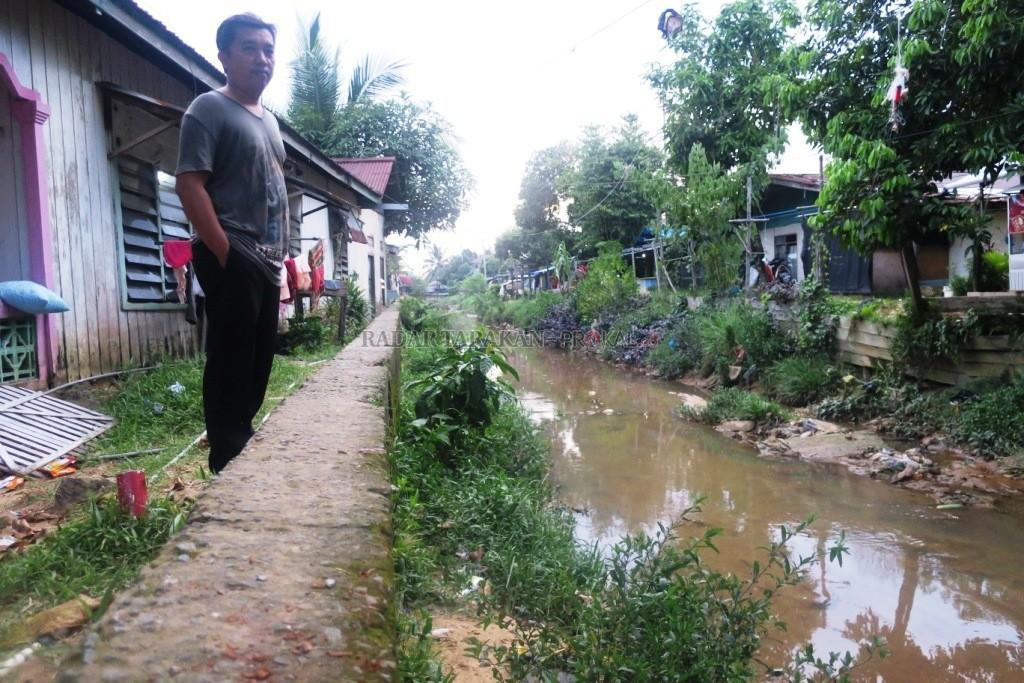 Berharap Proses Pelebaran Cepat Terealisasi Radar Tarakan Sungai Daerah Jalan