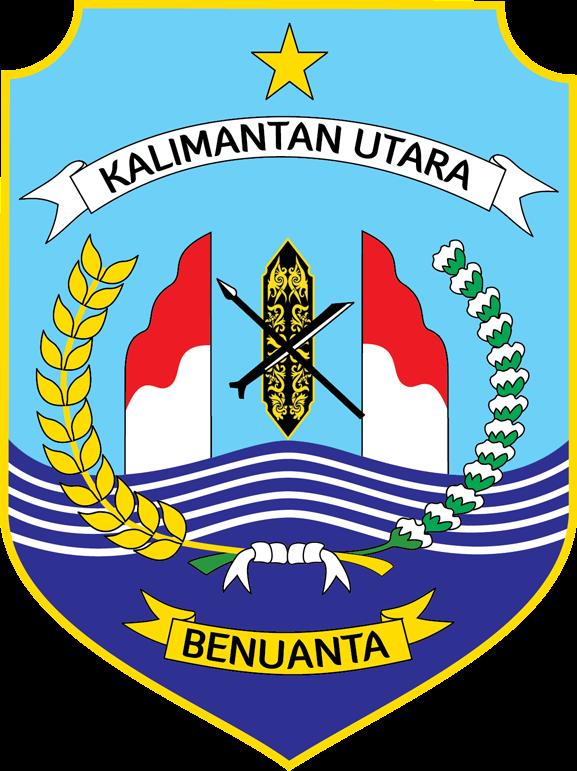 Blog Kaltara Arti Logo Kalimantan Utara Taman Cendrawasih Kab Bulungan