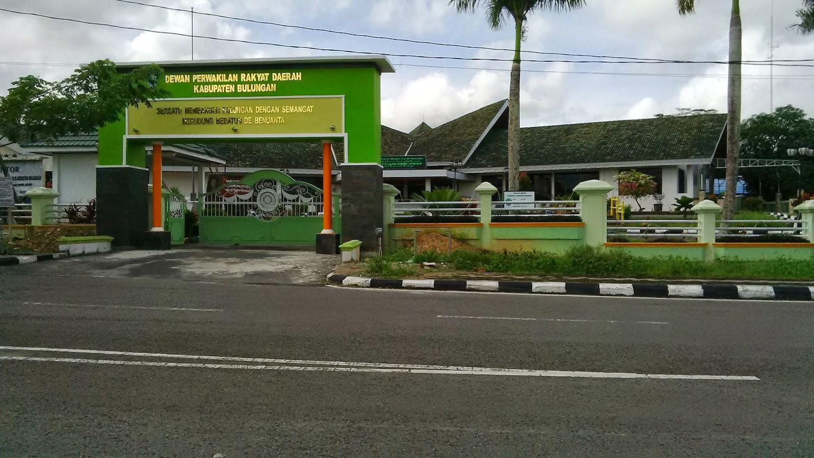 Blog Kaltara Gedung Dprd Bulungan Taman Cendrawasih Kab