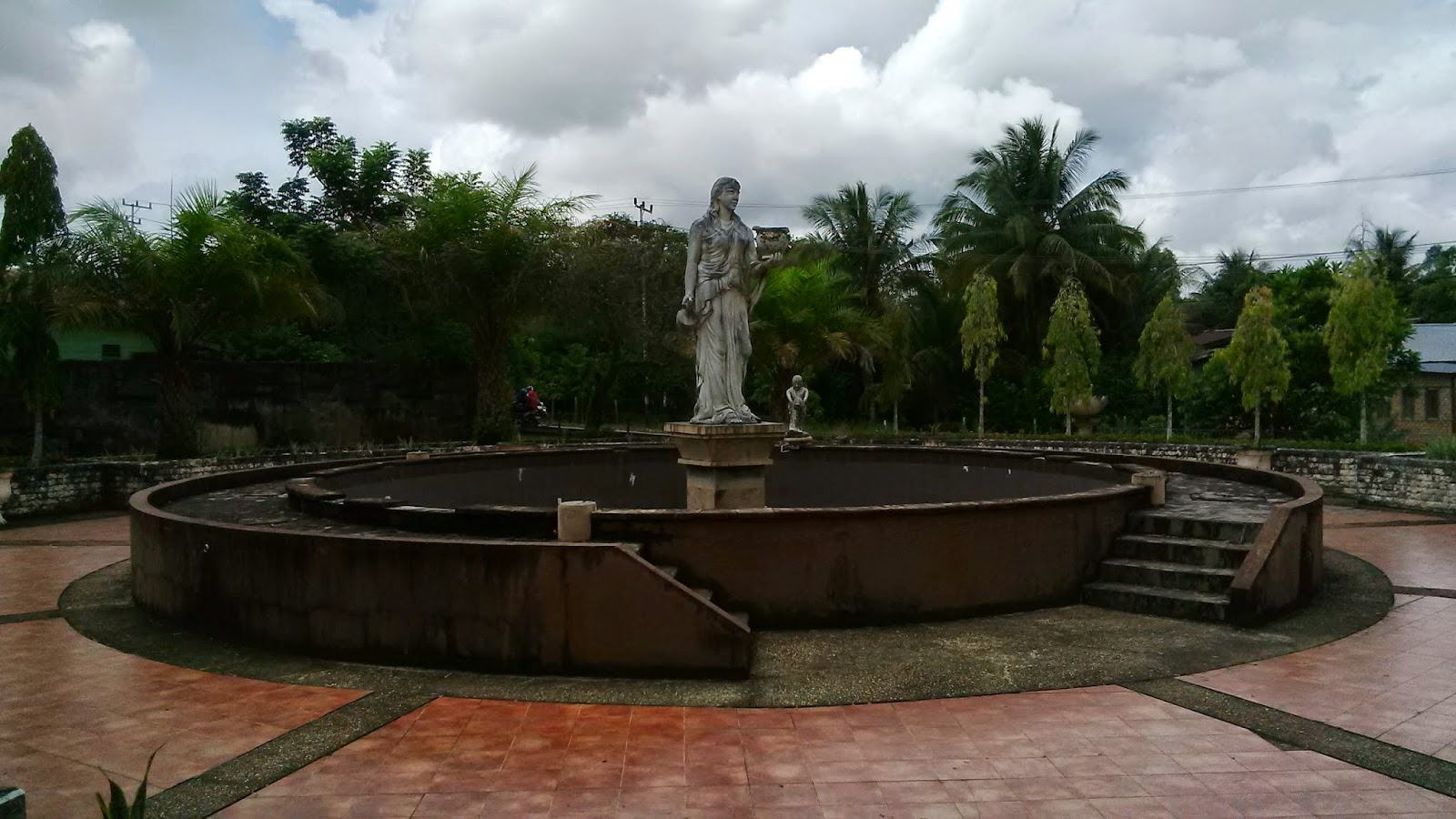 Blog Kaltara Taman Cendrawasih Tanjung Selor Kursi Bebatuan Artistik Sejuk