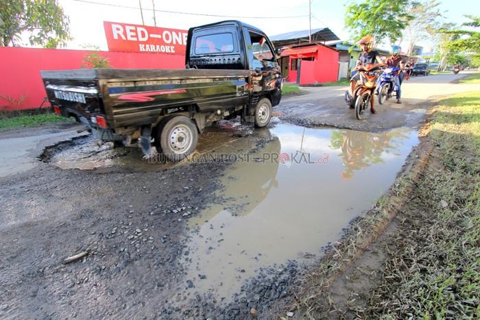 Bupati Instruksikan Perbaikan Bulungan Post Rawan Bikin Celaka Kerusakan Jalan