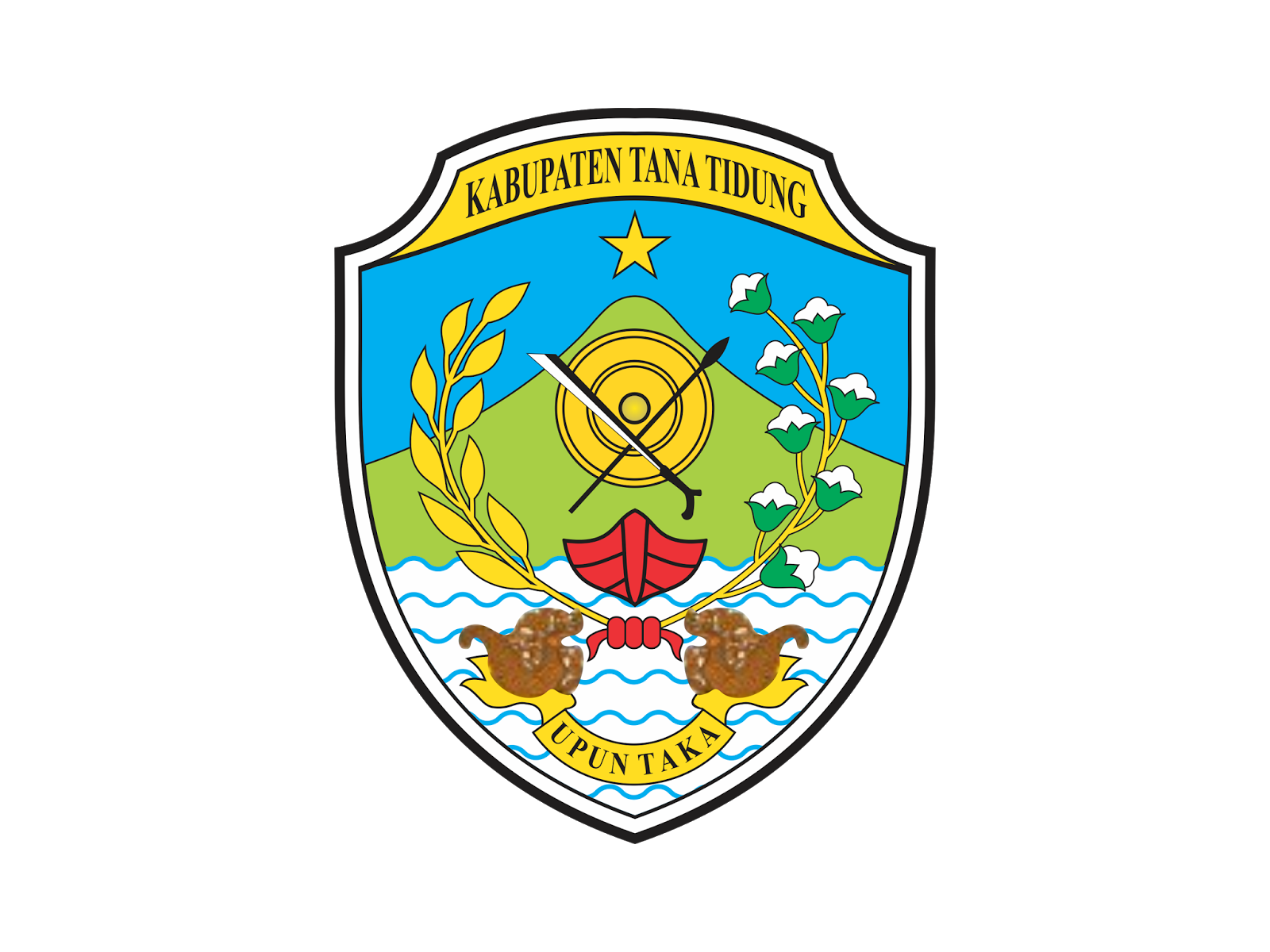 Logo Kabupaten Tana Tidung Vector Cdr Png Hd Gudril Taman