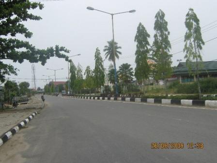 Photo Sudut Kota Tanjung Selor Kalimantan Utara Kaltara Online Taman