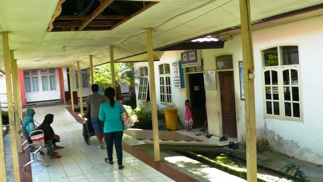 Rsud Soemarno Sosroatmodjo Tanjung Selor Kalimantan Utara Kondisi Atap Plapon