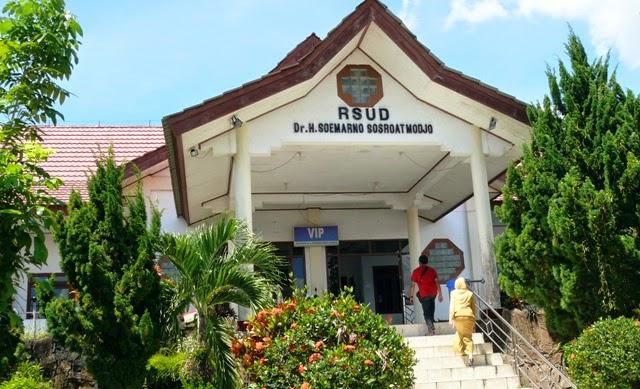 Rsud Soemarno Sosroatmodjo Tanjung Selor Kalimantan Utara Tampilan Depan Kabupaten