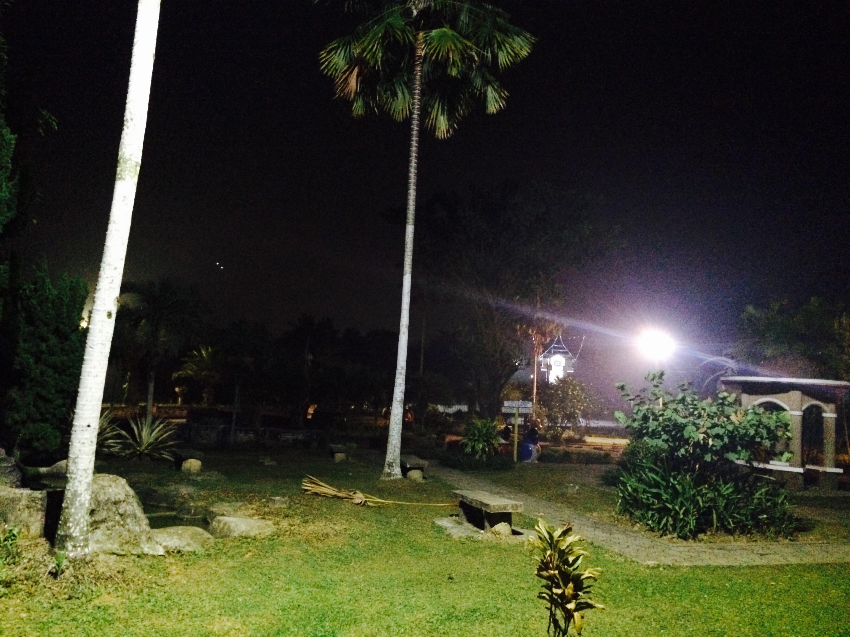 Taman Cendrawasih Tanjung Selor 2 Malam Hari Majidi Zaril Kab
