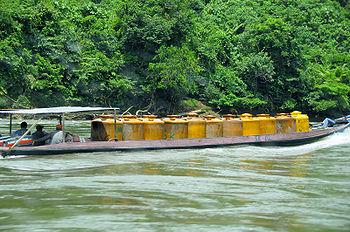 Taman Nasional Kayan Mentarang Wikipedia Bahasa Indonesia Transportasi Bbm Dilakukan