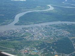 Tanjung Selor Bulungan Wikipedia Bahasa Indonesia Ensiklopedia Bebas Pemandangan Kota