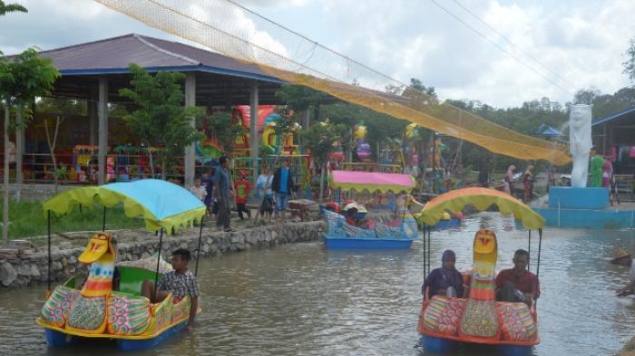 Buka Objek Wisata Selimau Park Padati Pengunjung Tribun Kaltim Taman