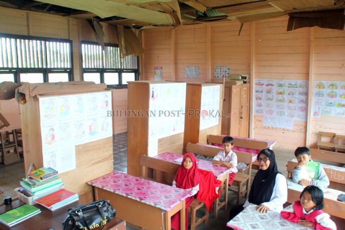 Gedung Sdn 025 Terancam Ambruk Guru Orangtua Siswa Khawatir Perhatian