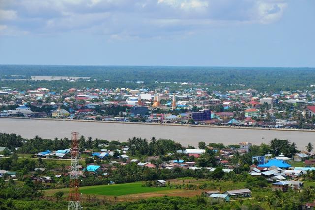 Menuju Surga Kedaulatan Pangan Kalimantan Utara Pemandangan Luas Tanjung Palas