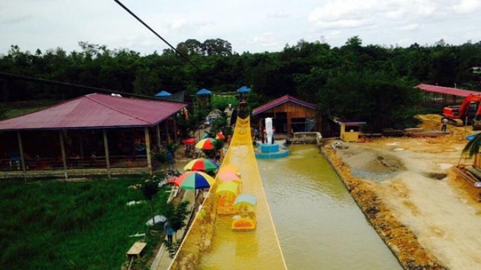 Pengunjung Selimau Park Tembus 1 000 Akhir Pekan Tribun Taman