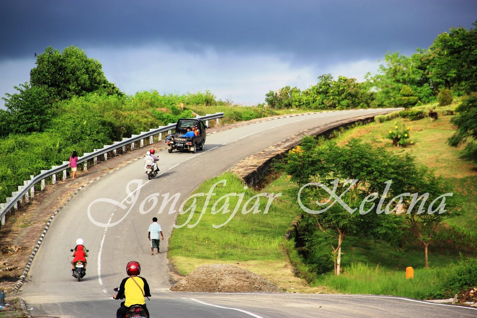 Pondok Pesantren Al Khairaat Tanjung Selor Jalan Menanjak Menuju Kawasan